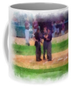 Meeting Of The Umpires Photo Art Coffee Mug