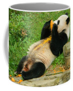 Mei Xiang Chowing On Frozen Treat Coffee Mug