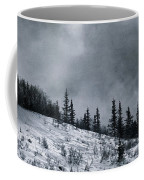 Melancholia Pines And Trees Coffee Mug