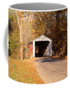 Melcher Covered Bridge Parke Co In Usa Coffee Mug