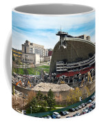 Mellon Arena Partially Deconstructed Coffee Mug by Amy Cicconi