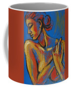 Mellow Yellow- Female Nude Portrait Coffee Mug