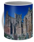 Melrose Abbey  Scotland Coffee Mug