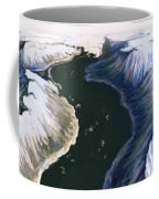 Melting Glacier 3 Of 3 Coffee Mug