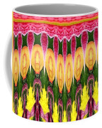 Melting Lily And Chrysanthemums Abstract Coffee Mug