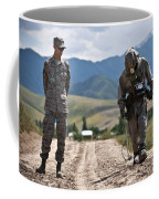 Member Of The Kyrgyz Republic Searches Coffee Mug