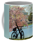 Memorial Bicycle Coffee Mug