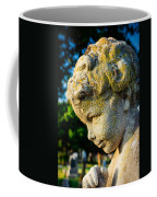 Memphis Elmwood Cemetery - Boy Angel Vertical Coffee Mug