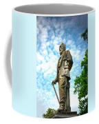 Memphis Elmwood Cemetery - Man With Cane Coffee Mug