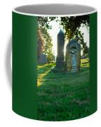 Memphis Elmwood Cemetery - Backlit Grave Stones Coffee Mug