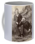 Men, 19th Century Coffee Mug