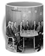 Men At A Business Meeting Coffee Mug