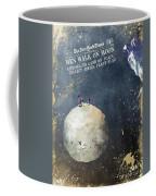 Men Walk On Moon Astronauts Coffee Mug