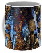 Menacing Teeth - Snow Thrower - Abstract Coffee Mug