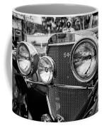 Mercedes 544k Grille - Bw Coffee Mug