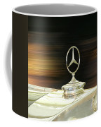 Mercedes Hood Ornament Coffee Mug