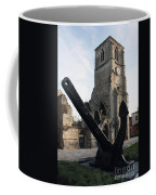 Merchant Sailors Memorial With Q.e.2 Anchor Coffee Mug