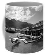 Merchants Wharf In Black And White Coffee Mug