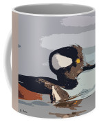 Merganser Reflections Coffee Mug