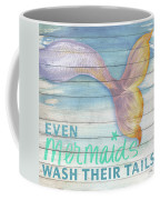 Mermaid Bath II Coffee Mug