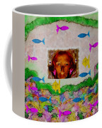 Mermaid In Her Cave Coffee Mug