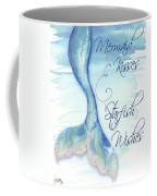 Mermaid Tail I (kisses And Wishes) Coffee Mug