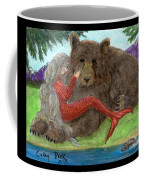Mermaids Bear Cathy Peek Fantasy Art Coffee Mug