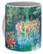 Mermaids Danicing Coffee Mug