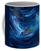Mermaids Dolphin Buddy Coffee Mug
