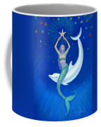Mermaids- Dolphin Moon Mermaid Coffee Mug