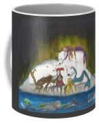 Mermaids Polar Bears Cathy Peek Fantasy Art Coffee Mug
