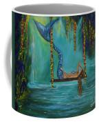 Mermaids Relaxing Morning Coffee Mug