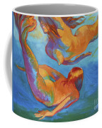 Mermaids Swimming Coffee Mug