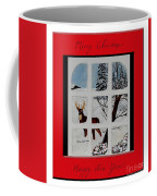 Merry Christmas Deer Coffee Mug