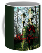 Merry Christmas Greeting Card Coffee Mug