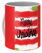 Merry Christmas- Greeting Card Coffee Mug