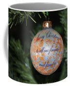 Merry Christmas Greetings Coffee Mug