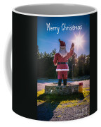 Merry Christmas Santa Claus Greeting Card Coffee Mug