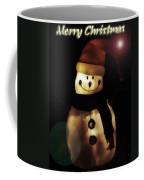 Merry Christmas Snowman  Coffee Mug