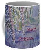 Merry Christmas - Snowy Winter Path Coffee Mug
