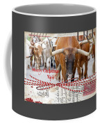 Longhorns Merry Christmas Ya'll Coffee Mug