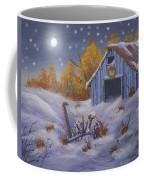Merry Christmas You Old Barn And Farm Implement Coffee Mug