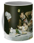 Merrymakers Coffee Mug by Charles Emile Auguste Carolus-Duran