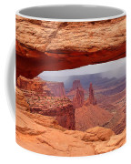 Mesa Arch In Canyonlands National Park Coffee Mug