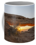 Mesa Arch Sunrise 3 - Canyonlands National Park - Moab Utah Coffee Mug