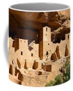 Mesa Verde National Park Cliff Palace Pueblo Anasazi Ruins Coffee Mug