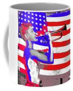 Mess Call Methodist  Service  At Camp Nathan Hale Southfields New York 1943-2014   Coffee Mug
