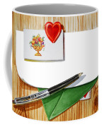 Message From The Heart Coffee Mug