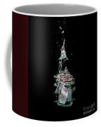 Message In Sinking Bottle Coffee Mug by Simon Bratt Photography LRPS