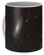 Messier 106 Spiral Galaxy Coffee Mug
